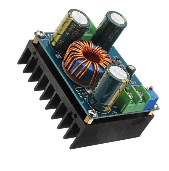 Conversor Elevador De Tensão Dc-dc 16 Amp Fonte Ajustável