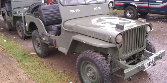 Jeep Willys 4x4 Guerrero Mb Gpw