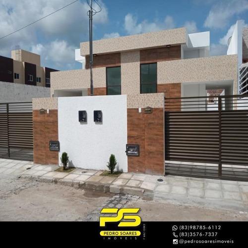 Casa Com 2 Dormitórios À Venda Por R$ 152.000 - Novo Geisel Ii - João Pessoa/pb - Ca0774