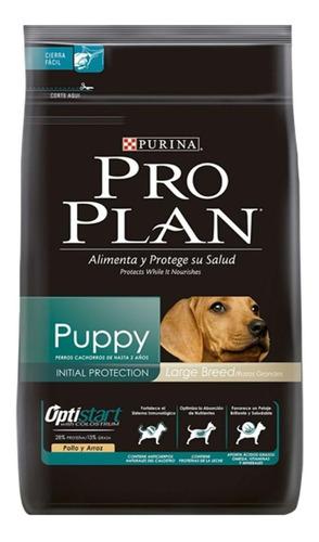 Imagen 1 de 2 de Alimento Pro Plan OptiStart Puppy para perro cachorro de raza grande sabor pollo/arroz en bolsa de 13kg