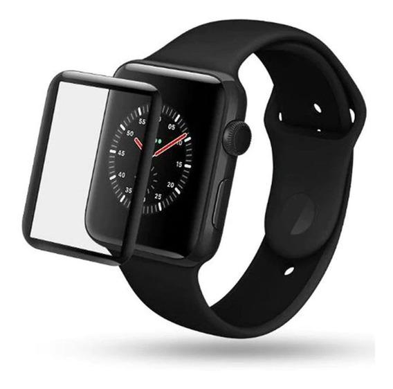 Pelicula Vidro 3d Apple Watch Serie 1 2 3 4 5 6 38/40/42/44mm