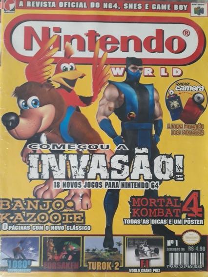 Coleção Primeiras Edições Revista Nintendo World
