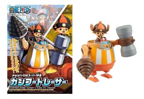 Imagen 1 de 3 de Chopper Robo Super 4 Kung Fu Tracer One Piece Bandai