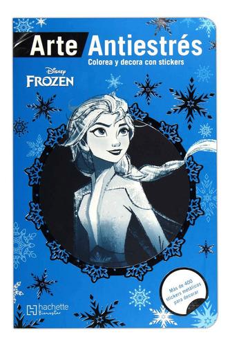 Imagen 1 de 2 de Colorea Frozen Estampas Antiestres Libro Disney Art Mandalas