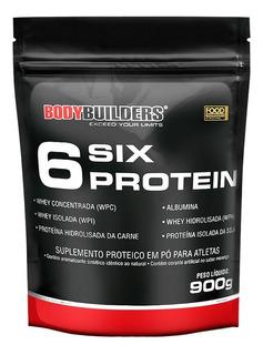 Whey 6 Six Protein 900g - Bodybuilders - Sabores
