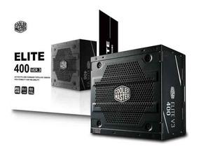 Fonte Cooler Master 400w Elite 400 Ver.3 Pronta Entrega