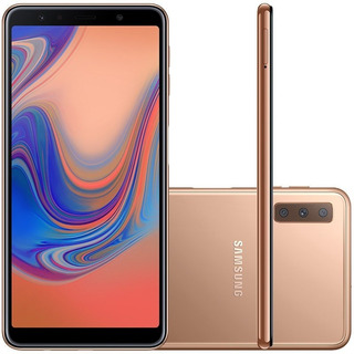 Celular Samsung Galaxy A7 128gb 4gb Tela De 6,24mp Cobre