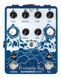Pedal Earthquaker Devices Avalanche Run Usa - Oddity