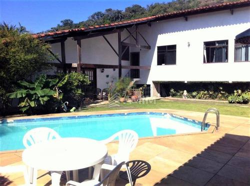 Ótima Casa Com 4 Dormitórios À Venda, 500 M² Por R$ 1.800.000 - Itaipu - Niterói/rj - Ca0537