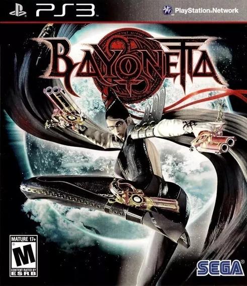 Bayonetta Ps3 Psn 7.5gb Jogo Original Envio Rápido