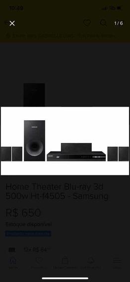 Home Blu - Ray 3d / Dvd Ht -f4505