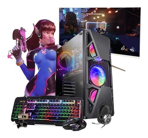 Pc Gamer Completo I5 9º Gtx 1050ti Hd 1tb Ssd 480gb Mon.32