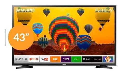 Televisor Samsung 43 Un43j5290 Smart Tv Full Hd Tienda F