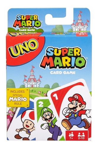 Imagen 1 de 6 de Uno Super Mario Bros Edición Especial Nuevo Sellado Envio