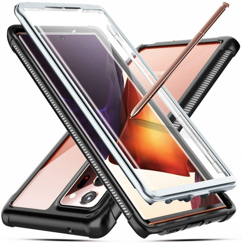 Temdan For Samsung Galaxy Note 20 Ultra Case, Built-in Scree