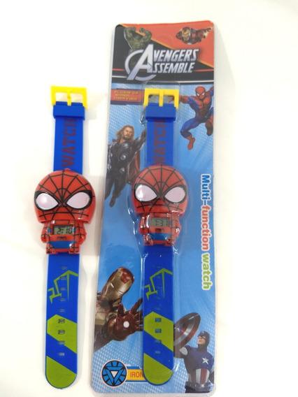 Relógio Infantil Homem Aranha Promoção!!!