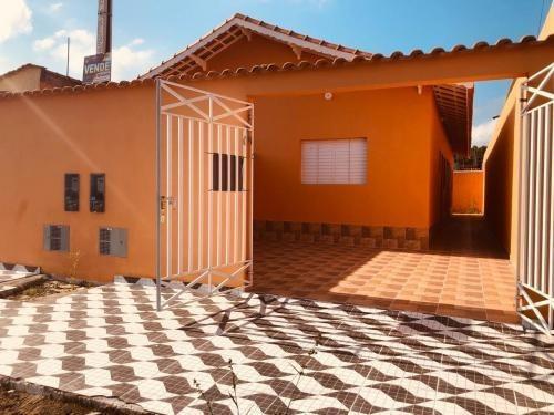 Casa No Bairro Jardim Leonor, Em Mongaguá,ref. 6945 M