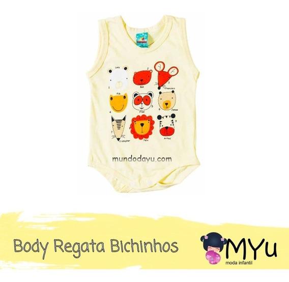 Body Regata Bichinhos