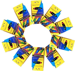 Crayolas Mayoreo Economico 10 Pz