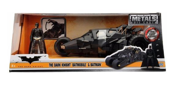 Auto De Colección Metal Batimovil Batman The Dark Knight
