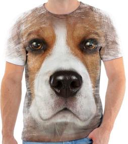 53a3b80b9 Camiseta Estampa Beagle - Camisetas e Blusas no Mercado Livre Brasil