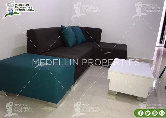 Arrendamientos De Apartamentos Baratos En Medellín Cód: 4846
