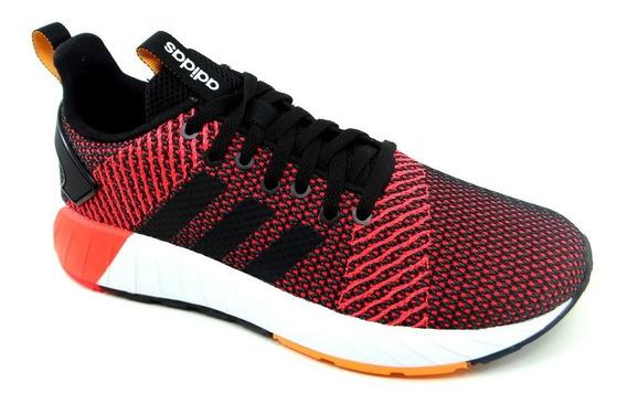 Tênis Masculino adidas Questar Byd Preto Vermelho - Db1544