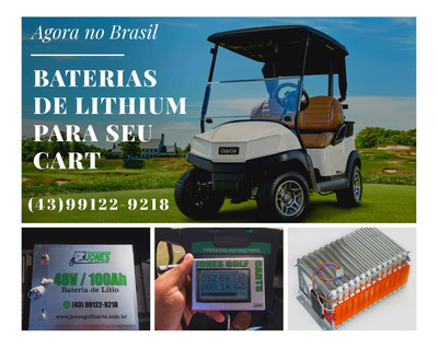 Venda E Locação Baterias Lithium Lítio Carrinhos De Golfe