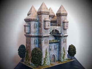 Castillo Medieval 2.0 (para Ara Armar En Papel)