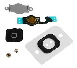 Eshinetm iPhone 5 Botón De Inicio Llave De Repuesto Flex Cab