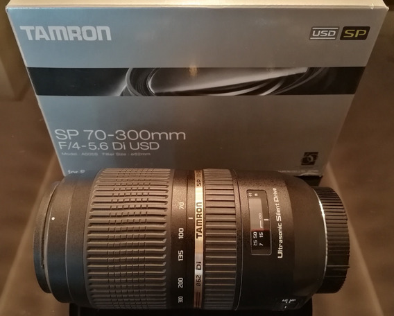 Lente Tamron Sp 70-300mm F/4-5.6 Di Usd Para Dslr/dslt Sony