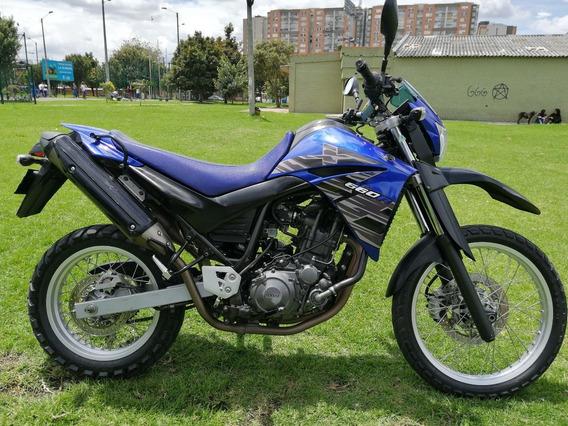 Yamaha Xt660 Azul