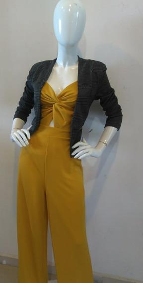 Lindo Palaxo Para Dama Color Amarillo
