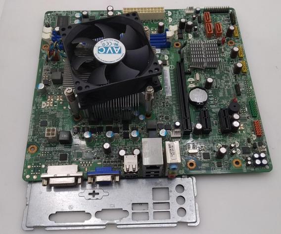 Kit Placa Lenovo Ih61m 1155 Ddr3 + Pentium Dual Core G645