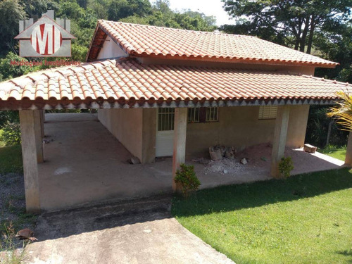 Excelente Chácara Com 02 Dormitórios, Próxima Da Cidade, Riacho Nos Fundos, Arborizada À Venda, 1000 M² Por R$ 300.000 - Zona Rural - Pinhalzinho/sp - Ch0568