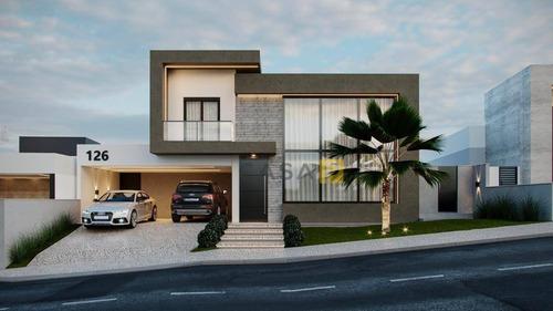 Casa Com 3 Dormitórios À Venda, 277 M² Por R$ 2.500.000,00 - Loteamento Residencial Jardim Villagio - Americana/sp - Ca1048