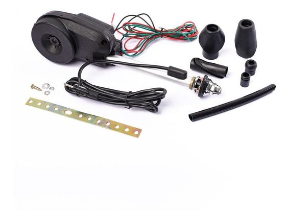 Antena Electrica Automatica Negro Plata Oregon 12v Universal