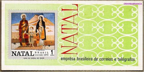 1970 Bloco B-30 Bloco Natal 70 - Portinari Mint