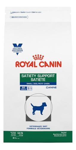 Alimento Royal Canin Veterinary Diet Canine Satiety Support para cachorro adulto de raça pequena sabor mix em saco de 1.5kg