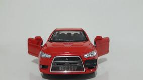 Miniatura Lancer Evolution X Vermelho Kinsmart 1/36