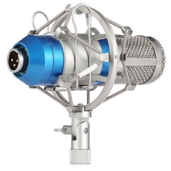 Leihao Bm - 800 Microfone Condensador Gravação Som E Choque