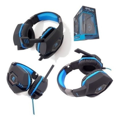 Headset Gamer Knup Kp-451 Para Ps4/xbox/pc
