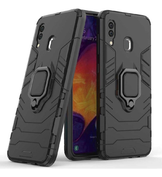 Funda Samsung Galaxy A M S J Note Case Uso Rudo Protector Anillo Magnético