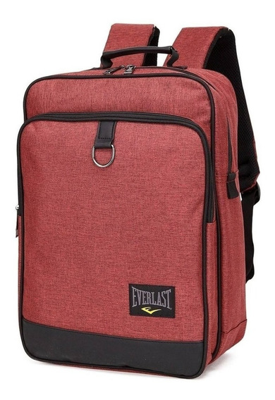 Mochila Everlast Porta Notebook Pc Original Escolar Tablet