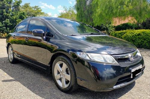 Imagem 1 de 6 de Honda Civic 2008 1.8 Lxs Flex Aut. 4p