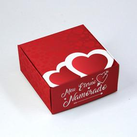 Caixa Para 4 Doces Namorados Eterno C/10 Un