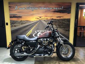 Harley Davidson Forty Eight 2018 Vermelha 0km