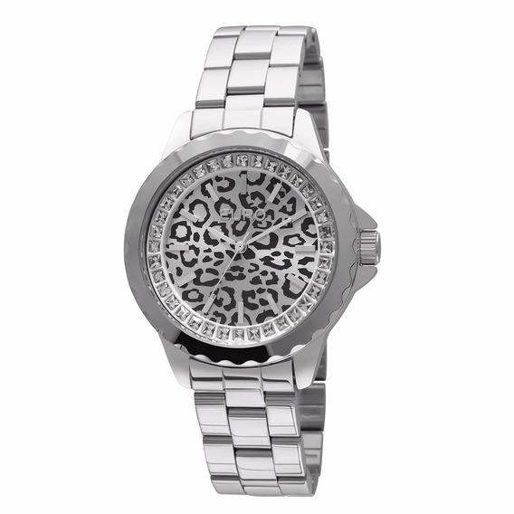 Relógio Feminino Euro Analógico Fashion - Oncinha - Eu2035yb