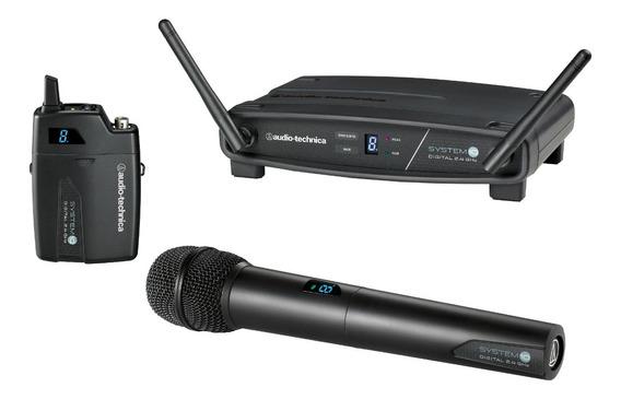 Audio Technica Atw 1102 Sistema De Microfone Sem Fio