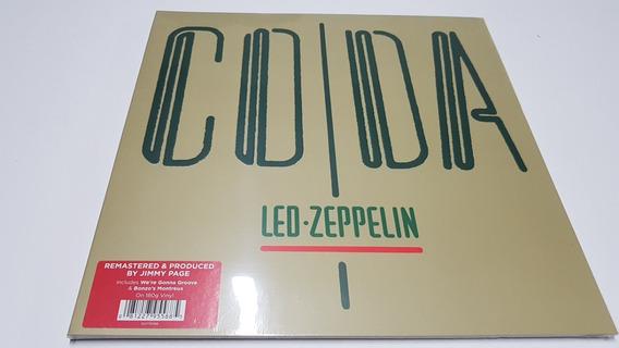 Lp Led Zeppelin - Coda - Imp. 180g Europeu Lacrado